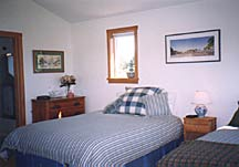 Cabin Interior at Blue Heron Bed and Breakfast